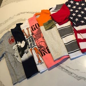 Lot Bundle of 7 Carters and Children's Place Tees